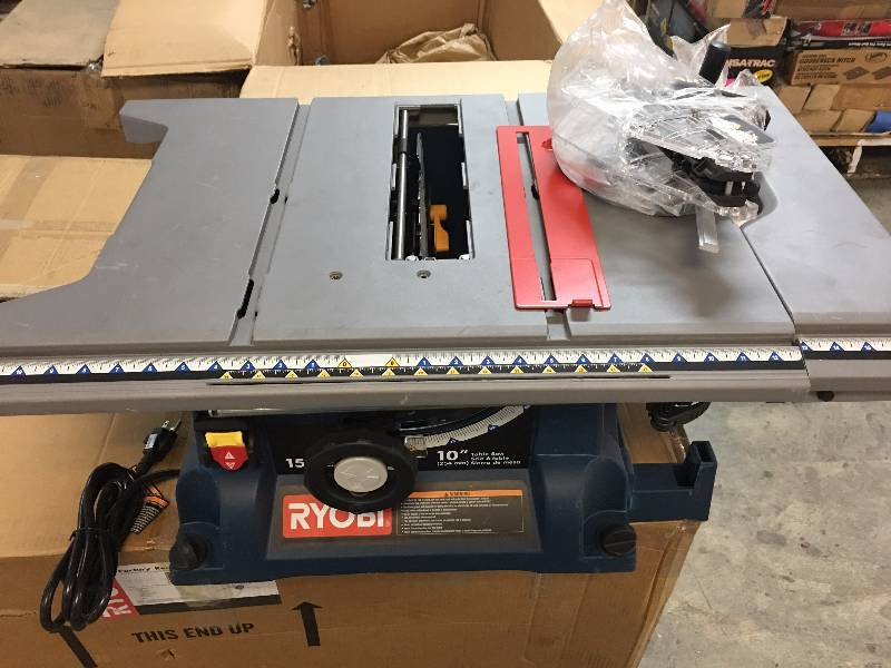 Ryobi RTS21 10 in. Portable Table Saw | Laminate Flooring ...