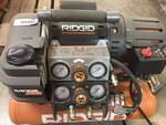 RIDGID Tri-Stack 5 Gal. Portable Electric Steel Orange Air Compressor