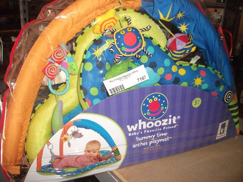 by Manhattan Toy New Whoozit Tummy Time Arches Playmat
