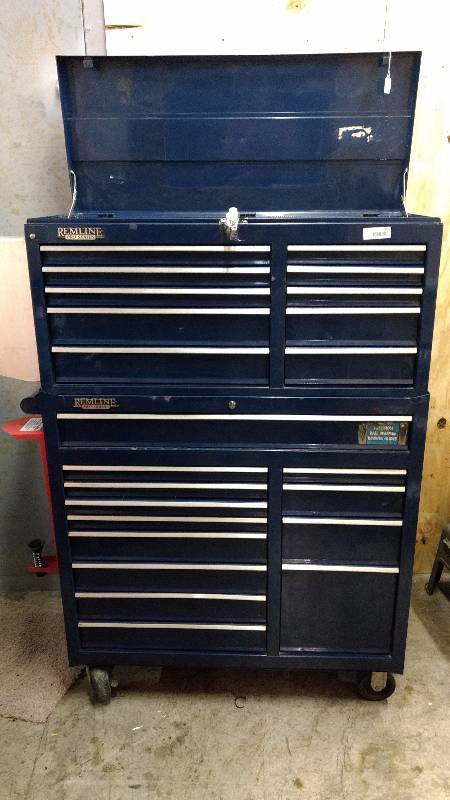 Big Tool Box >> Heavy Duty Remline Pro Series Rolling Toolbox Little Joes Big Tool