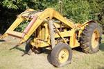 Vintage Tractor - Fordson Major Diesel - w/bucket and upgrades - see photos