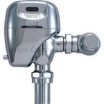 TEW1DNCS Series. Sensor Toilet Flush Valve. Exposed - 3.5 GPF. Battery Powered Factory Sealed