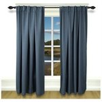 Grand Pointe Rod Pocket Panel, 96 H x 54 W, Deep Blue