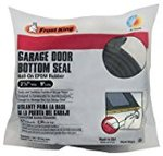 Frost King G9 Nail-On Rubber Garage Door Bottom Seal, 2-1/4-Inch by 9-Foot, Black