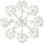Modern Reflections 16-inch Acrylic Round Burst Wall Decor