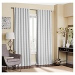 2 Sets of Adalyn Blackout Curtain White (52