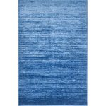 Safavieh Adirondack Collection ADR113F Light Blue and Dark Blue Area Rug, 9 feet by 12 feet (9' x 12')