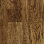 TrafficMASTER Flooring Kingston Peak Hickory 8 mm Thick x 7-9/16 in. Wide x 50-3/4 in. Length Laminate Flooring (21.44 sq. ft. / case) Medium brown 2-strip Hickory plank with a rustic wood grain FB0346DYI2856WG001
