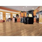 TrafficMASTER Lakeshore Pecan 7 mm Thick x 7-2/3 in. Wide x 50-5/8 in. Length Laminate Flooring (24.17 sq. ft. / case), Medium