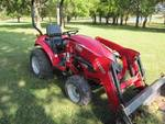 2016 TYM HST 234 Tractor With  TX-2000 Front End loader