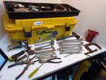 Box of Miscellaneous Tools in Toolbox