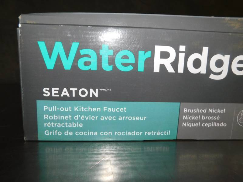 Water Ridge Seaton Pullout Kitchen Faucet Open Box Inspect For Parts And Condition Tuesday Night Special Tubs Vanitys Outdoor And Housewares Auction Equip Bid