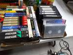 Lot of various VHS tapes