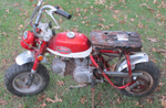 Vintage, Antique - Honda MiniTrail Motorcycle! WOW! See photos