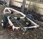 Small Spartan Boat Trailer - w/TILTING MECHANISM! Highly Sought-After - See Photos!