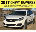 2017 Chevrolet Traverse LS SPORT UTILITY 4D FWD - 8 Passenger Seating - With Factory Warranty - NO RESERVE - (COPY OF SALES CONTRACT)