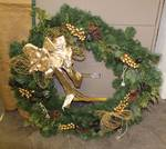 "Wreath - 46"" Diameter - Decorate for the Holidays"