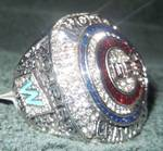 Replica World Championship Ring Size 12 Chicago Cubs
