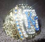 Replica World Championship Ring Size 12 KC Royals
