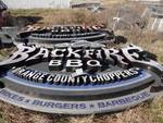Large Signage - Orange County Choppers Backfire BBQ