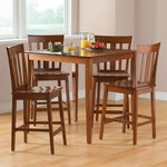 MainStays Counter High Dinning Table