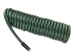 Plastair SpringHose PUW825B94H-AMZ Light Polyurethane Lead Free Drinking Water Safe Recoil Garden Hose, Green, 1/2-Inch by 25-Foot