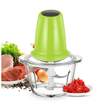 Huluwa Food Processor Mini Electric Multipurpose Meat Chopper with One-Touch Accelerate Button, 30 Seconds Overheat Protection Function