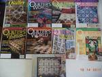 Lot of Quilting Magazines  Quilters World