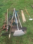 HUGE LOT OF GARDEN TOOLS AND MORE
