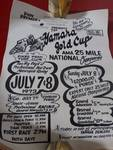 1973 Yamaha Gold Cup Posters