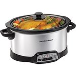 6-Quart Progamable Slow Cooker