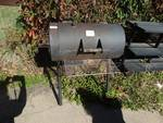 Brinkmann smoker made out of steel heavy.