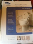New bathroom toilet safety frame as pictured just armrest frame not riser