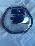 Chrome rear end plate