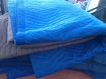 Two large moving blankets many uses great to have around