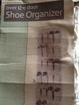 Over the door shoe organizer new in package