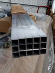 15 1 in by 4 feet long aluminum rods