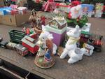 Large lot of Christmas Decorations