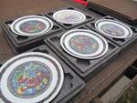 Lot of 5 Limoges plates