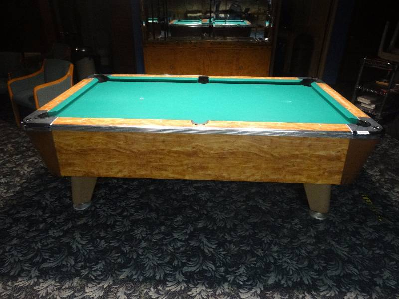 Valley Panther Coin Op Pool Table Wichita Rhythm Cues Bar - Panther pool table