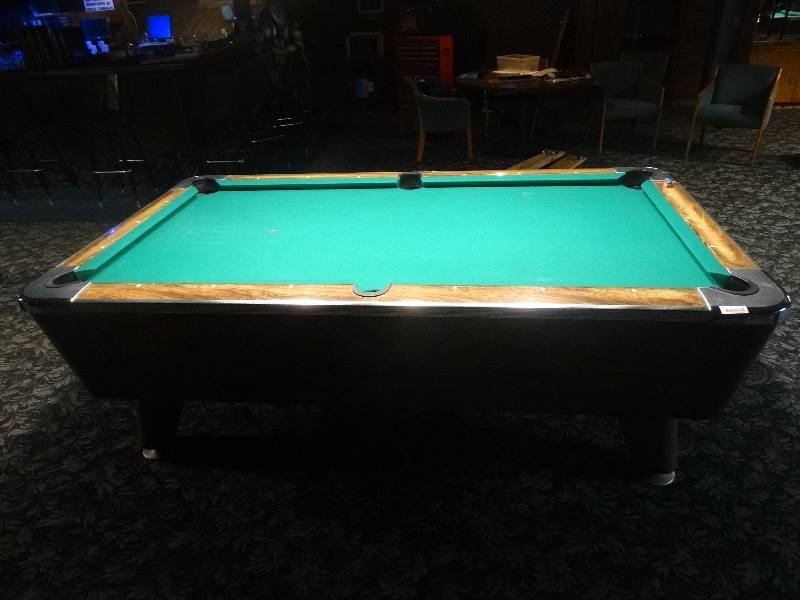 Valley Coin Op Bar Size Pool Table Slate Top Wichita Rhythm - Valley bar pool table for sale