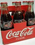All Dale Earnhardt JR. with SR on these Commemorative Coca-Cola NASCAR Racing Family 6 pack