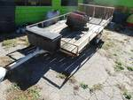 Utility trailer w/ ramp gate