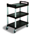 Continental Commercial 3 Shelf Bussing / utility Cart
