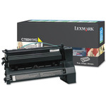 Lexmark Compatible C780/782 Yellow Toner Cartridge (10000 Page Yield) (C780H1YG)