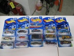 Lot of in Package Hot Wheels