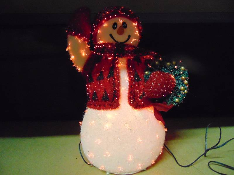 avon exclusive fiber optic snowman approx 15 tall works christmas is comingand we have the stuff you need to get ready holiday decor trees toys