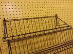 "36"" overall width HD wire shelf for peg board or your metal rack to the high bid."