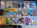 Huge Lot of AMAZING Cult Comic Books (MYSTERY MEN ORIGIN IN FLAMING CARROTS)
