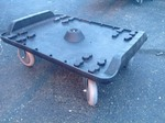 Very nice forecaster dolly large casters heavy duty many uses